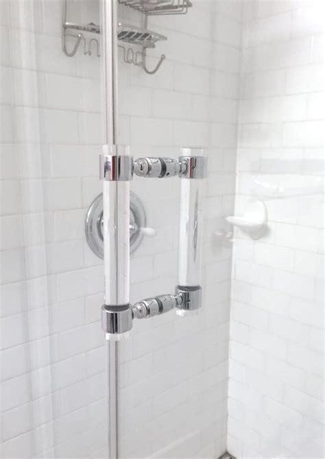 Modern Bathroom Door Handles by Lucite Shower Door Handles Brass Shower Door Handles