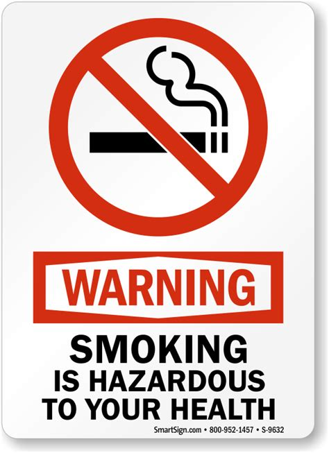 No Smoking Labels  Smoking Is Hazardous, Sku S9632. Forum Banners. Kung Fu Panda Stickers. Print My Poster. Cystic Acne Signs. Retro Logo Banners. Indigenous Murals. Grocery Banners. Safety Moment Signs
