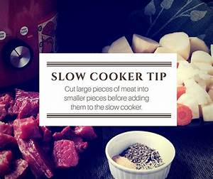 Slow cooker tip graphic