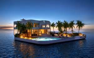 easy kitchen island 5 amazing luxurious floating homes