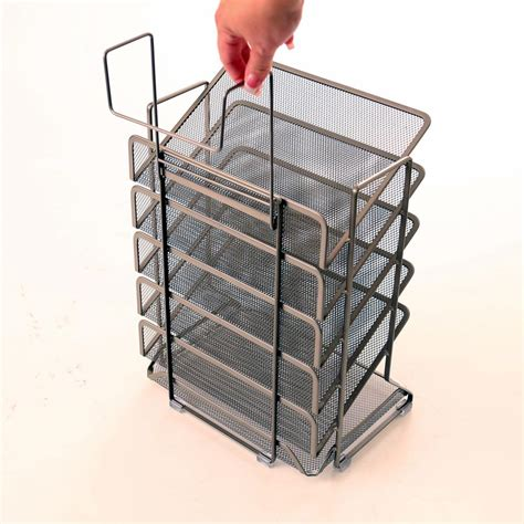 Office Desk Trays by Seville Classics Office Desk Organizer Mesh