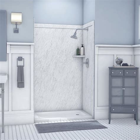 shower surrounds flexstone elegance 36 in x 48 in x 80 in 9 easy
