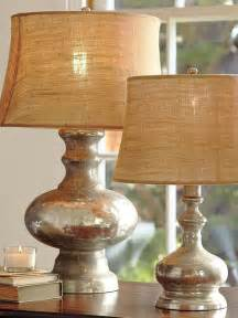 Pottery Barn Table Lamps Glass by The Painted Pear Diy Mercury Glass Lamps
