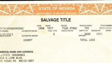 What Is Salvage Title Meaning And What Does Salvage Car