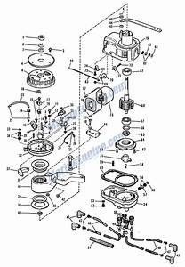 Johnson Magneto And Distributor Group Parts For 1964 60hp
