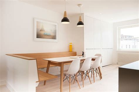 Small Apartment Kitchen Decorating Ideas - refined simplicity 20 banquette ideas for your scandinavian dining space