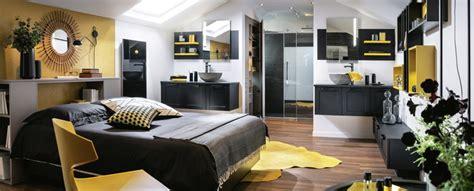 plan chambre salle de bain suite parentale confort mobalpa