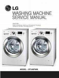 Lg St148pwm Washing Machine Service Manual And Repair