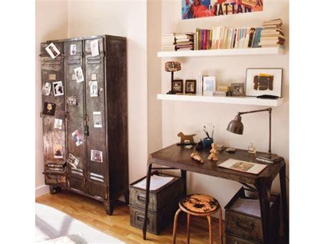 chambre style usine deco chambre usine