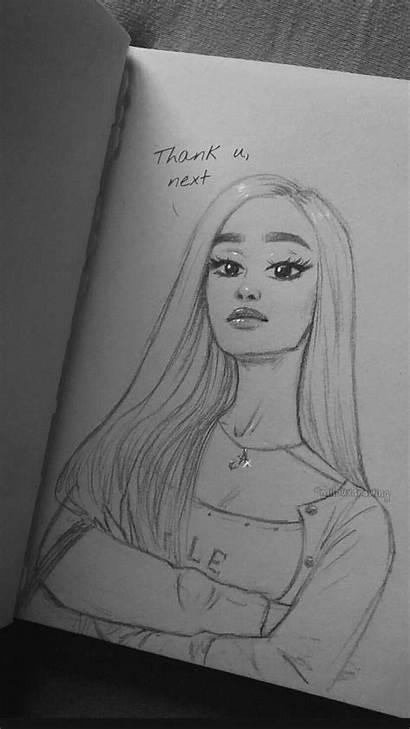 Drawings Drawing Pencil Sketchbook Ariana Grande Easy