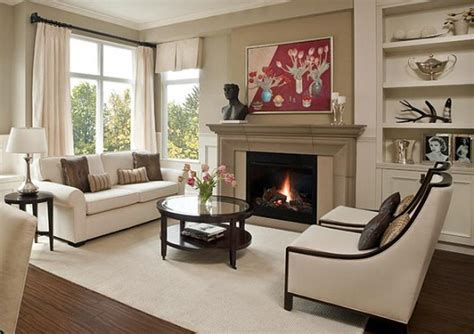 Living Room With Fireplace Layout by 23 Living Room Designs With Fireplaces