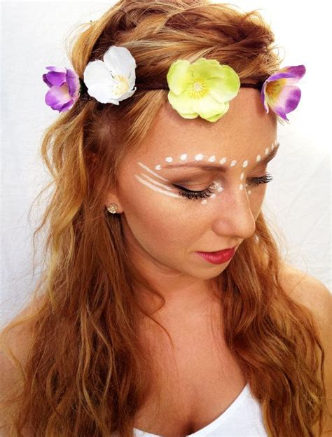 Boho Flower Crown Flower Halo Rave Floral Headpiece Lana