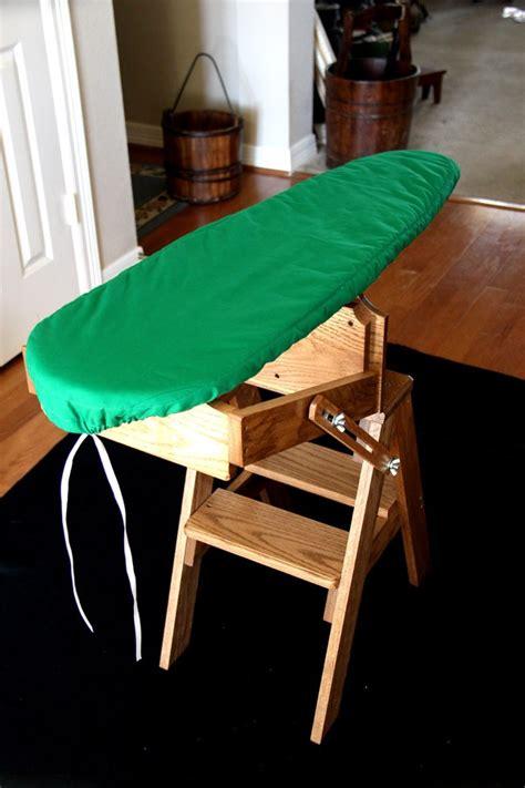 ironing board step stool bachelor jefferson folding ironing board step stool chair