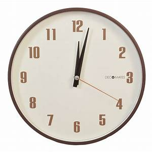 Retro Multiplex Silent Wall Clock