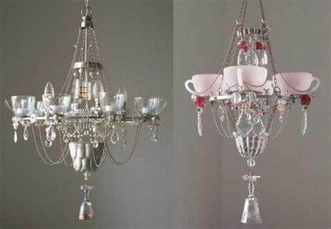 unique lighting design ideas recycling tableware  kitchen utensils  lighting fixtures
