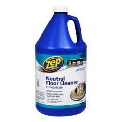 Zep Floor Cleaner by Zep 1 Gal Neutral Floor Cleaner Zuneut128 The Home Depot