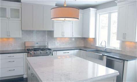 carrara marble kitchen island a custom home by a master builder toledo blade