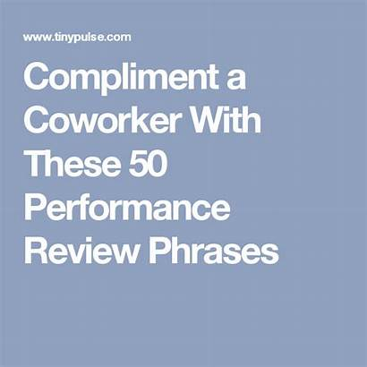 Coworker Compliments Coworkers Employee Appreciation Performance Positive