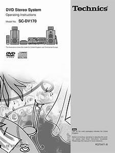 Download Technics Sc Dv170 Owners Manual
