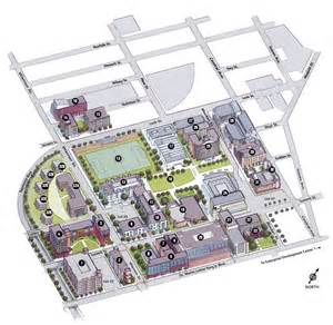 Njit New Parking Deck by Campus Maps About