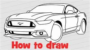 Drawing Of A Mustang | www.pixshark.com - Images Galleries ...