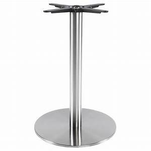 Pied De Table Metal Carré : pied de table wind carr sans plateau en m tal 50cmx50cmx75cm acier ~ Teatrodelosmanantiales.com Idées de Décoration