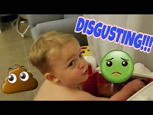 ewww toddler pees and poops on floor youtube With kid poops on floor