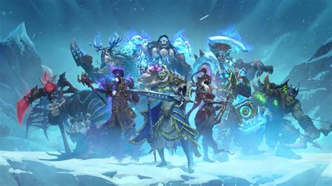 hearthstone decks mage frozen throne hearthstone and chill in the s knights of the frozen