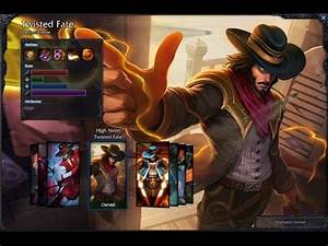 High Noon Twisted Fate Skin Spotlight Gameplay 1080p HD ...