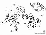 Coloring Pages Space Outer Galaxy Planets Adults Getcoloringpages Solar System Stars Spaceship sketch template