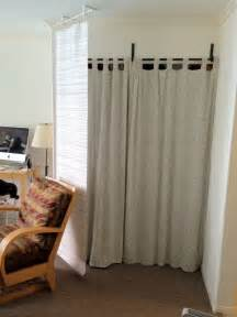 curtain panel bluff and room divider ikea hackers ikea hackers