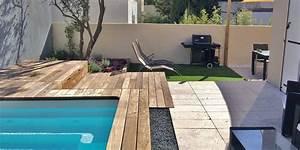 amenagement d39un jardin de ville avec mini piscine a marseille With amenagement petit jardin avec piscine 10 parc