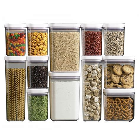 Oxo Good Grips Pop Kitchen Dry Food Storage Container Set
