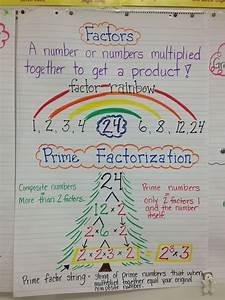 Factor Rainbow | Math ideas | Pinterest