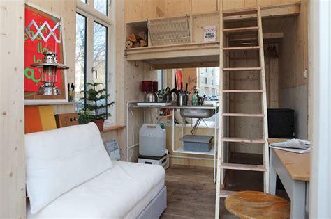 Tiny House Innen by Miniatur H 228 User Raum Ist In Der Kleinsten H 252 Tte