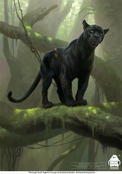 Jungle Concept Bagheera Deviantart Panther Michael Kutsche