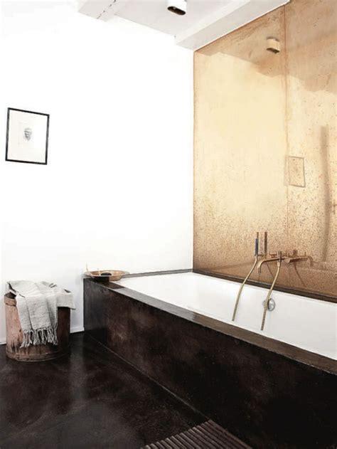 Copper Bathroom Wall