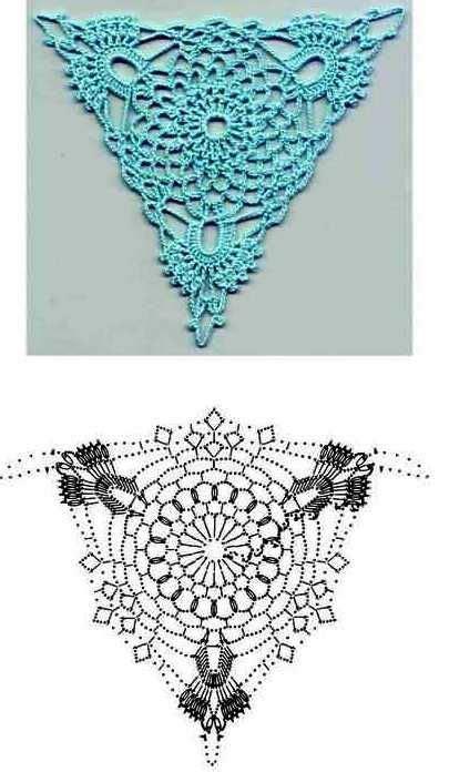 Piastrelle Crochet by Piastrella 17 Chinelos Crochet Crochet Triangle