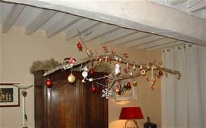 Branche De Bois Deco : decoration plafond pour noel ~ Teatrodelosmanantiales.com Idées de Décoration