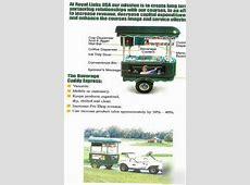 Royal links usa golf cart beverage caddy express