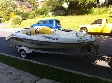Seadoo Hits Boat by Sea Doo Speedster 1996 For Sale For 4 500 Boats From