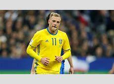 Guidetti, en la lista de Suecia para la repesca contra