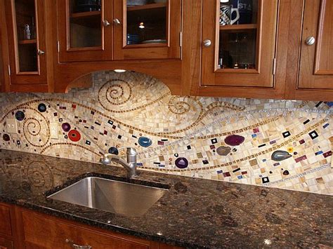 mosaic tile backsplash kitchen ideas 16 wonderful mosaic kitchen backsplashes