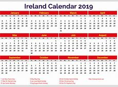 Ireland 2019 Calendar printcalendarxyz