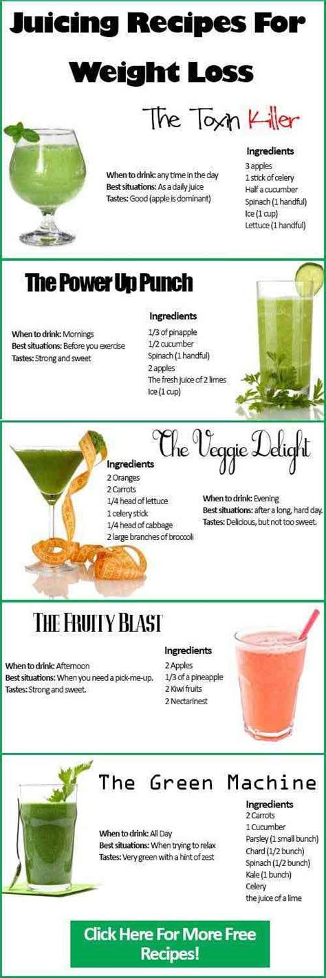 juicing recipes loss weight juices lose juice cleanse recipe body detox diet help smoothie fruit healthy smoothies weightloss these via
