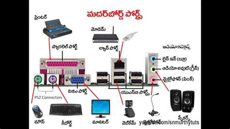 Hardware Tutorial In Telugu