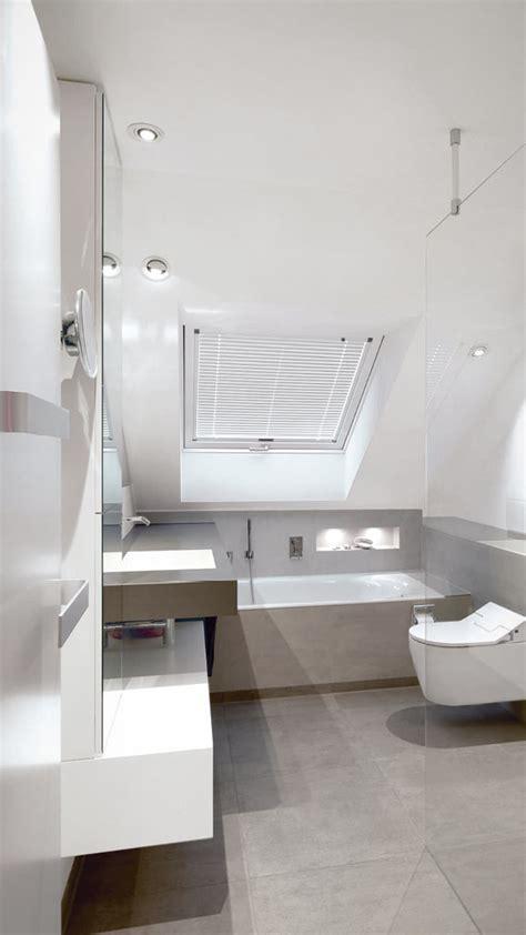 Kleines Bad Mit Dachschrage Gestalten  Interior Design