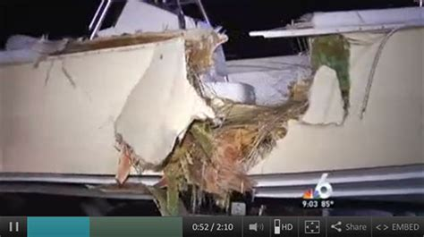 Dinner Key Boat Crash by Four Dead In Coconut Grove Boating Waterway