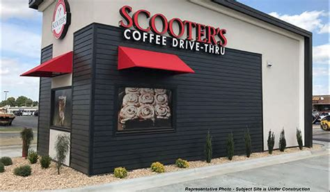 Most popular scooters coffee house locations: Scooter's Land Lease Investment Sale