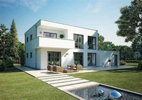 Moderne Häuser Cube by Kern Haus Bauhaus Cube Gartenseite